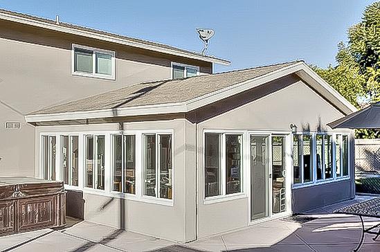 Patio room additions california sunroom cost for Solarium cost