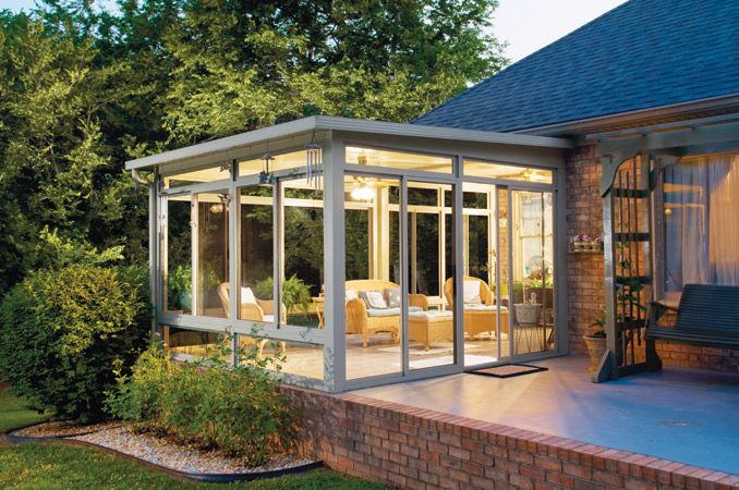 California Sunroom Enclosure