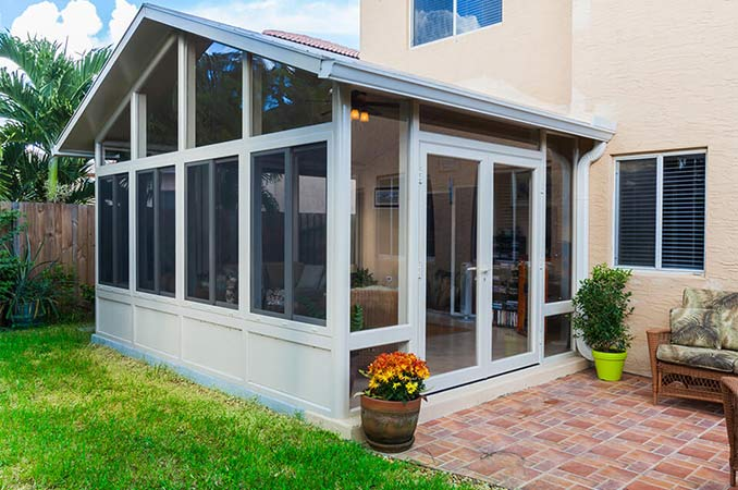 California Patio Room Enclosure