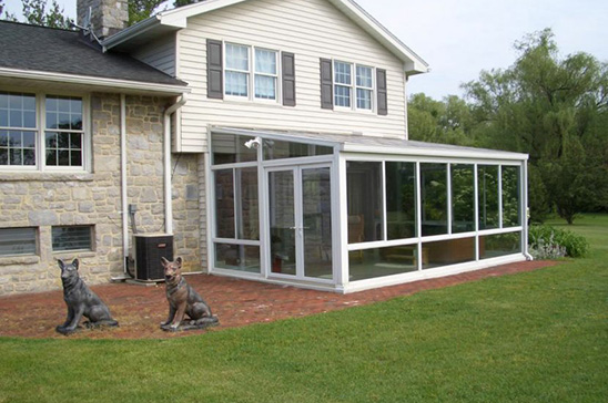 how much does a sunroom cost. Straight Eave Sunroom California How Much Does A Cost S